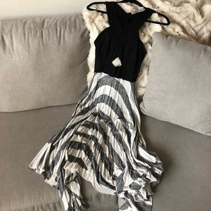 Free People Beach Striped Midi Dress